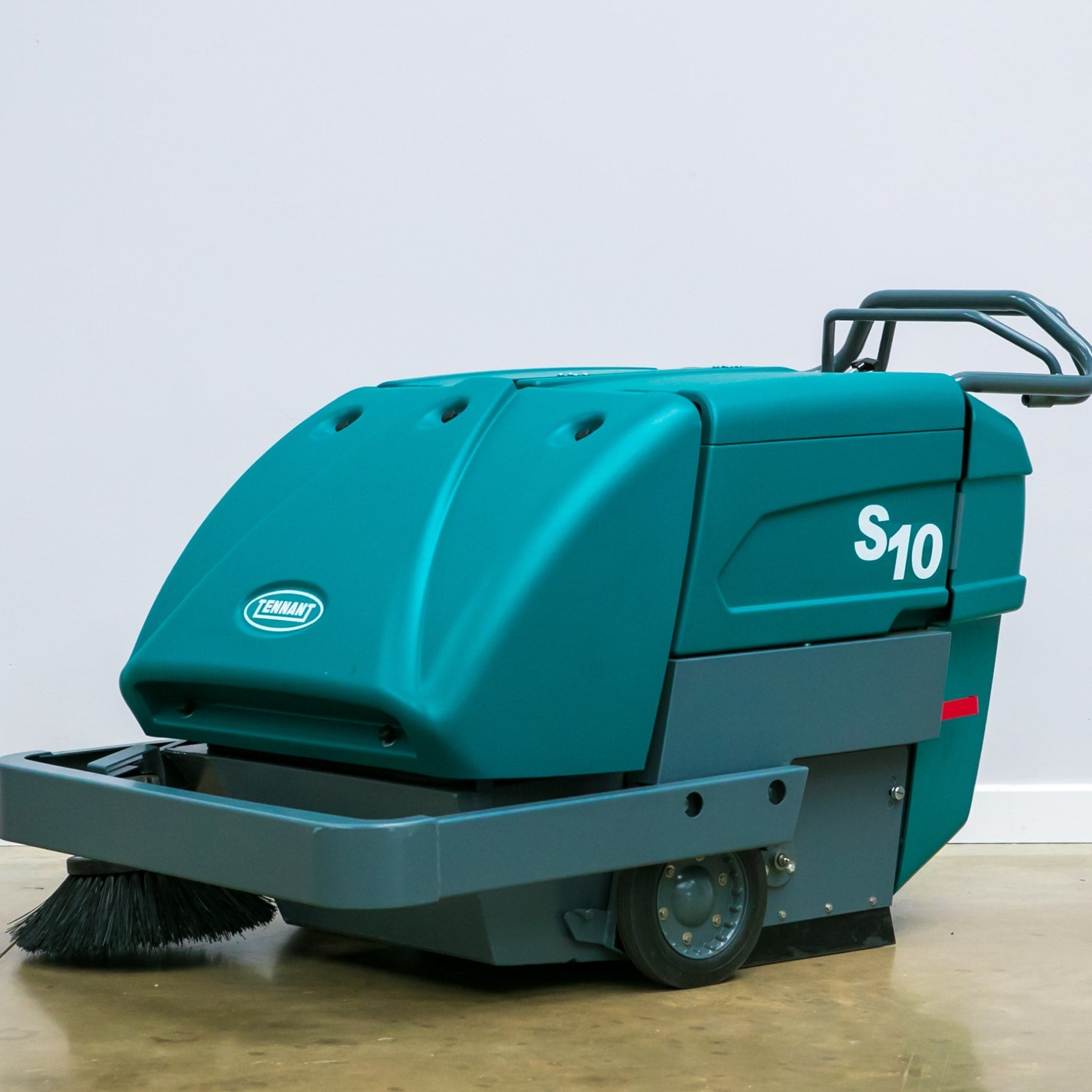 large battery walk behind sweeper