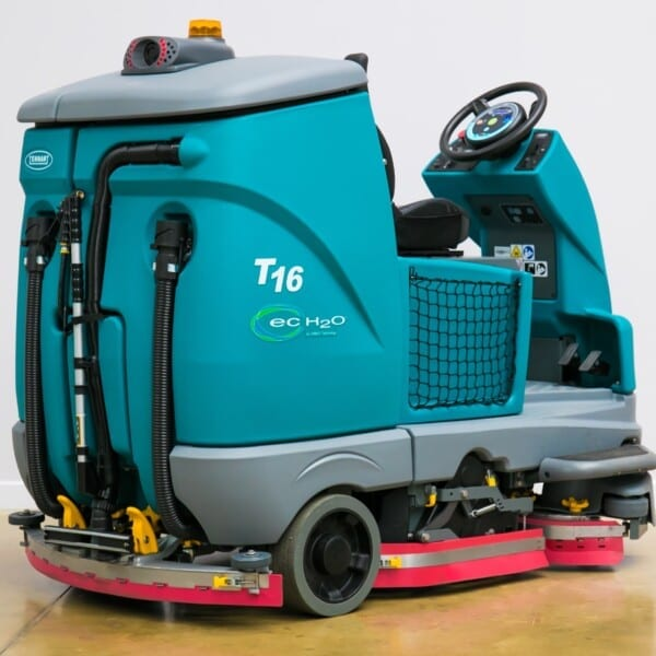 Tennant T16 Battery-Powered Ride-on Scrubber-Dryer