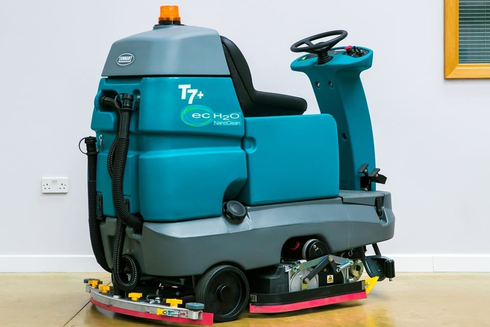 Great cleaning machines for shopping centres and supermarkets. Tennent cleaning equipment sales.